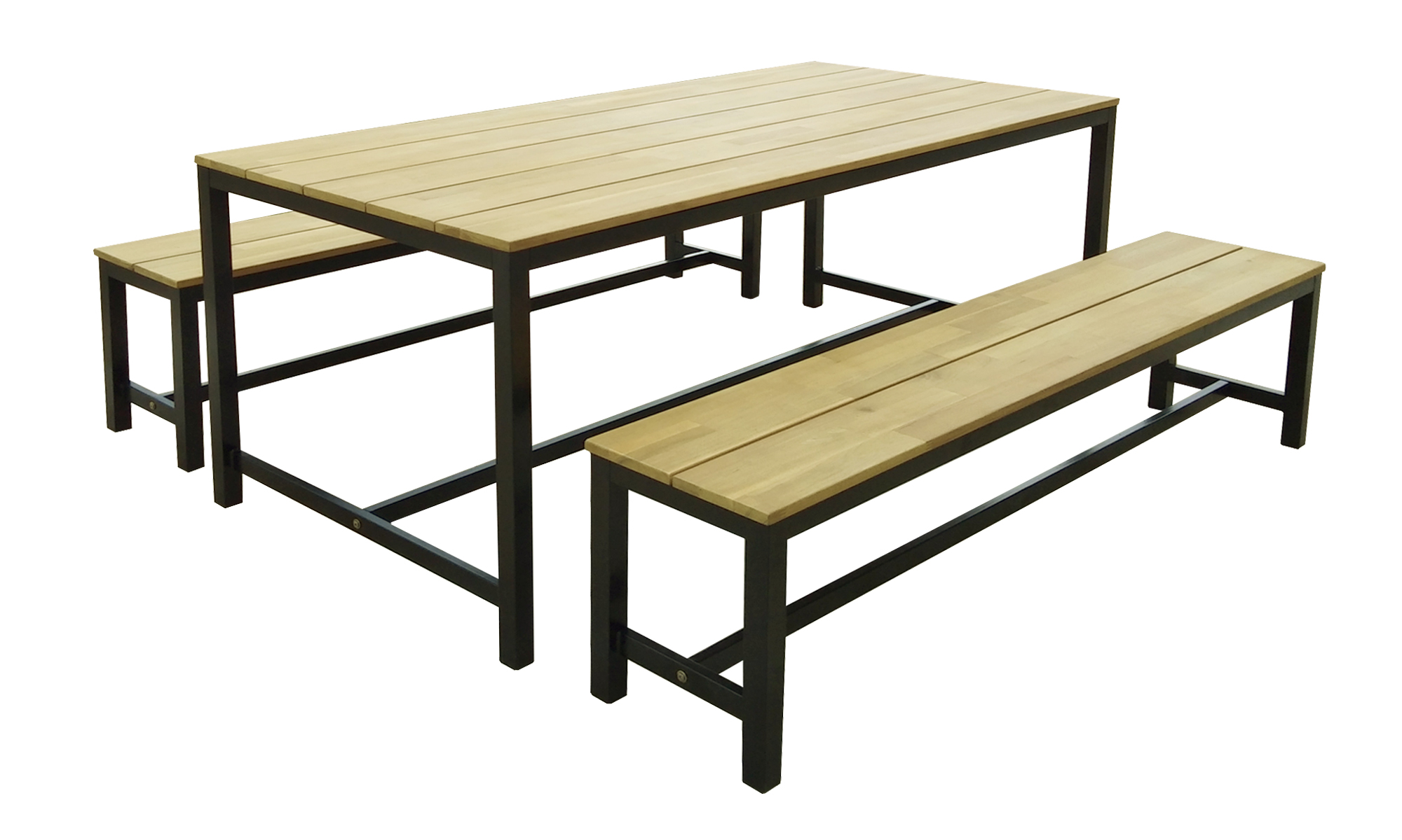 Slice Metal Bench Set (Series 1)